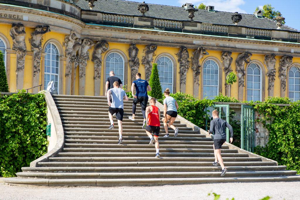 Treppen von Sanssouci