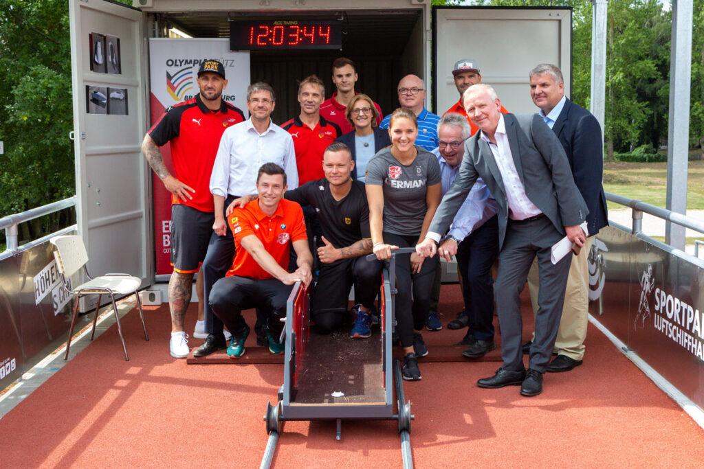 Bobsport Potsdam - feierliche Eröffnung